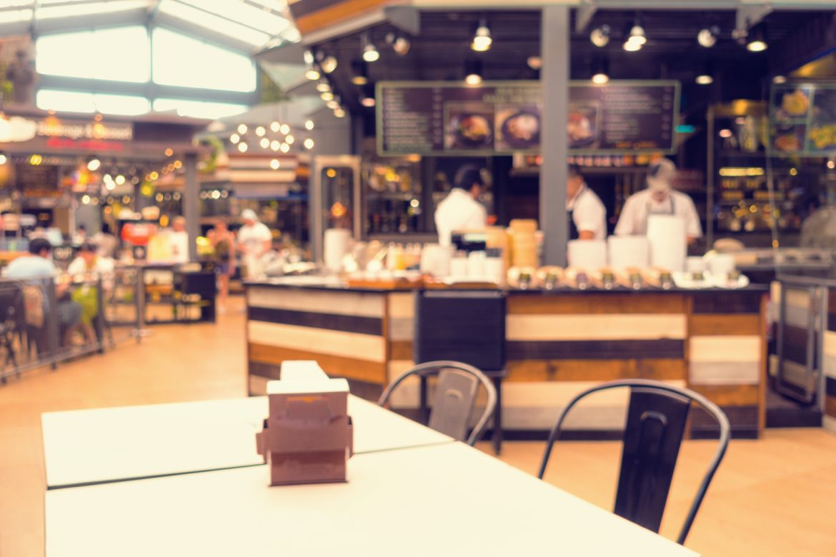 Abstract blurred in department store food court and shop retails. Mind The Mall Germs: Top Five Bacteria Laden Spots - Purgo Cleaning Services UK